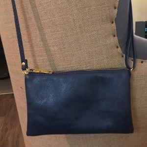 NWOT. Navy crossbody purse